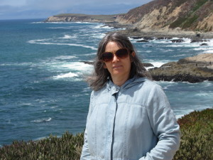 Deborah Olenev at Pacific Ocean