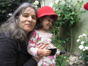 Deborah Olenev and Child