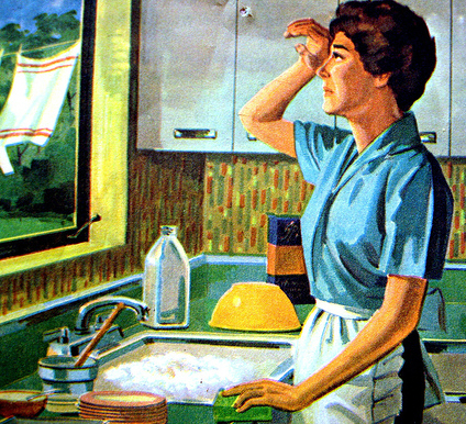 Tired of Washign the Dishes