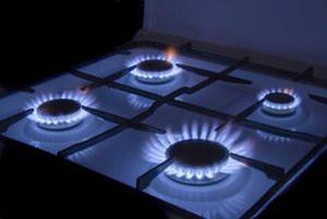 Flame on Stove