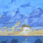 Miami Sunrise by Deborah Olenev