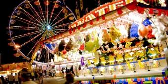 Games at Night Arkansas State Fair